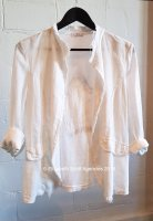 Star Linen Jacket With Sequins
