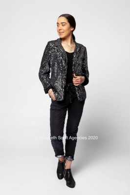 Sequin Bling Jacket
