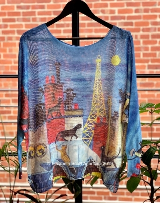Cats In Paris Jumper