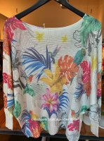 Bird Batwing Cotton Knit