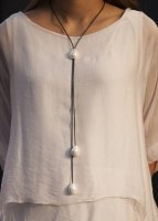 6b0165893d Linen Tunic with Split Sleeve and Lace Detail  ES-TU-502 ...