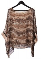 Serpent Print Top