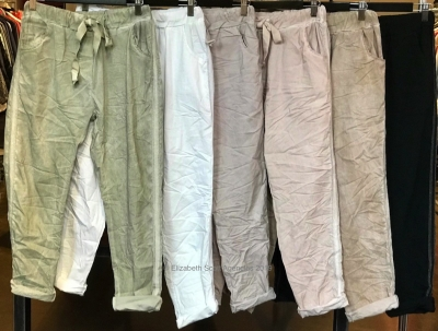 Lurex Stipe Pants