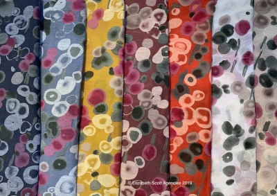 Spots and Bubbles Scarf