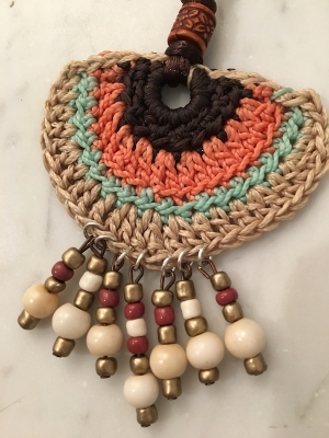 Spanish Crochet Warrior Neck Piece