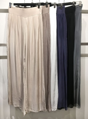 Silk Pants with Soft Lining